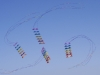 Formation flying with the Rev II kite stacks